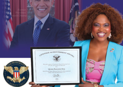 President Barack Obama Lifetime Achievement Award for Excellence in Service
