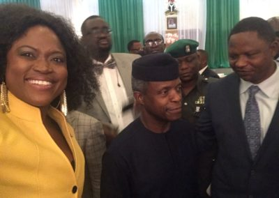 Trade Mission to Nigeria- Visit with the Vice President of Nigeria, Professor Yemi Osibanjo