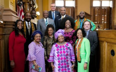 AFRICAN DIASPORA DAY AT THE CAPITOL