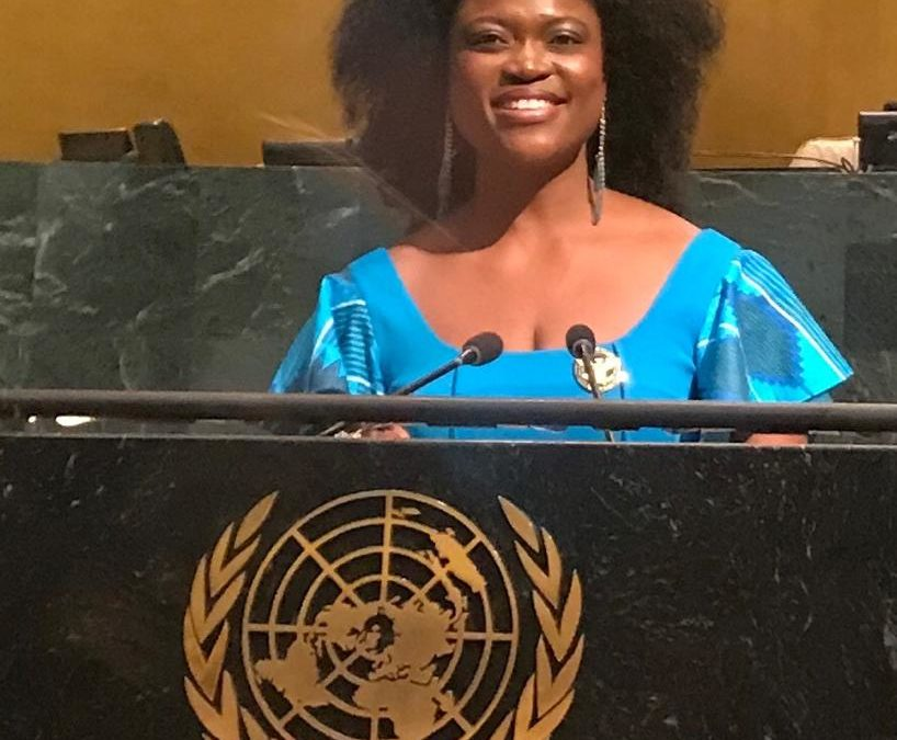 Queen Blessing takes service of humanity to global stage